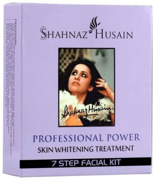 Shahnaz Husain Skin Whitening Treatment 7 Step Facial Kit (5 x 12.6 g