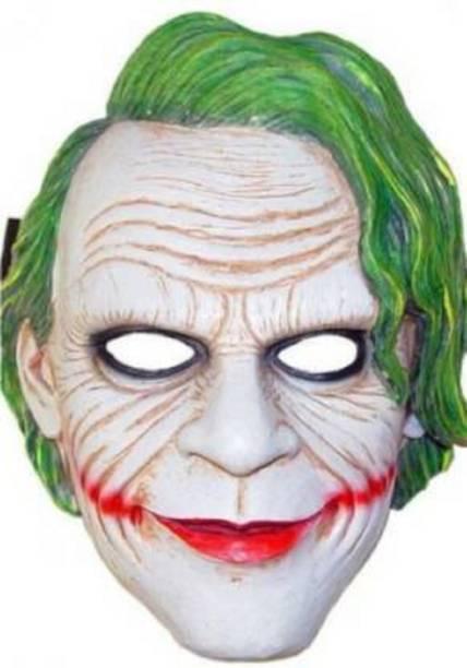Rangbaaz Enterprises Dark Knight Joker Mask Party Mask (Multicolor,Pack of 5) Party Mask