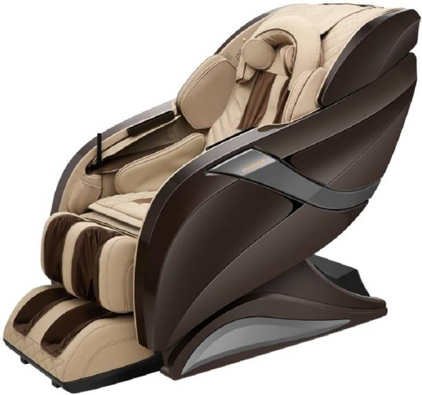 HCI eRelaxic a Japanese Therapeutic Massage chair with Zero Gravity, Full body stretch, Hot Stone, Longest 145 cm Spine Curved massage track. (Brown) Massage Chair