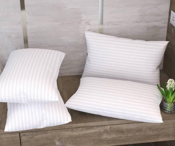 Flipkart SmartBuy Polyester Fibre Stripes Sleeping Pillow Pack of 4