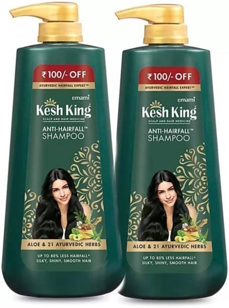 Kesh King Ayurvedic anti hairfall shampoo