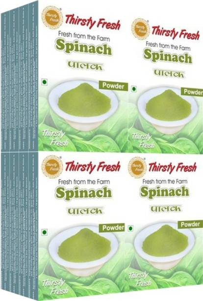 Thirsty Fresh Spinach Powder - (Wholesale Pack of 100gx16)