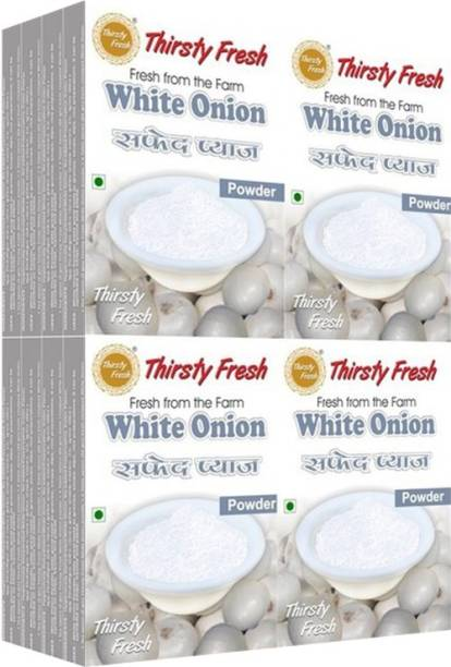 Thirsty Fresh White Onion Powder - (Wholesale Pack of 100gx16)