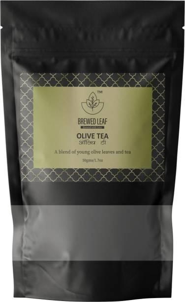 brewed leaf OLIVE TEA Herbs Herbal Tea Pouch