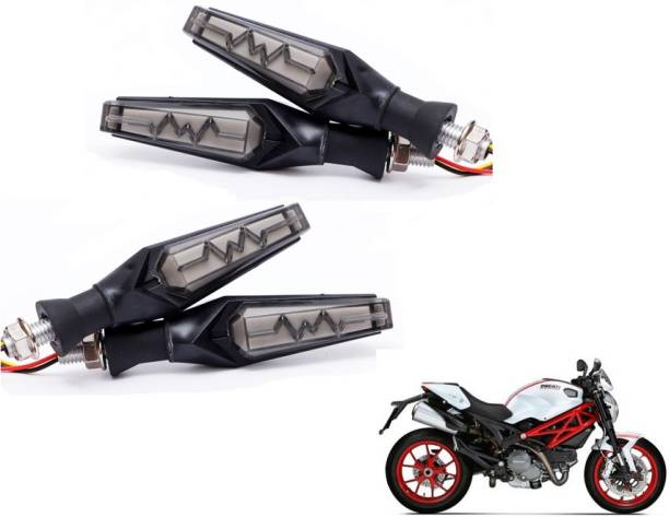 Autyle Front, Rear LED Indicator Light for Universal For Bike