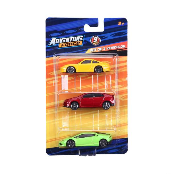 Adventure Force Die-cast 3 Pack