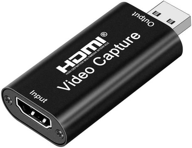 SMACC HD Audio Video Capture Card HDMI Female to USB Male for Screen Sharing | Broadcasting | Video Recording | Live Conference | Medical Imaging | DSLR Recording | Acquisition | Game Streaming 0 inch DVD Player