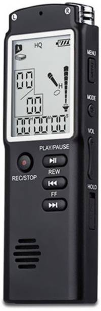Onskart Voice Recorder USB Professional Dictaphone Digital Audio Voice Recorder with MP3 Player Black_8GB NA Voice Recorder