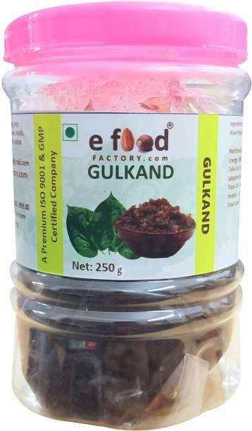 E Food Factory Gulkand 250 g In Pet Jar 250 g
