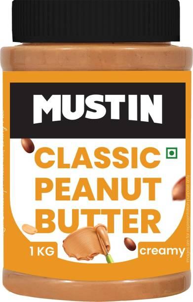 Mustin Classic Peanut Butter Creamy-1kg 1 kg