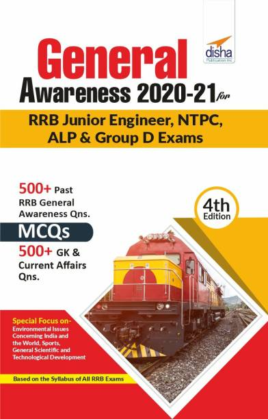 General Awareness 2020-21 for RRB Junior Engineer, NTPC, ALP & Group D Exams 4th Edition