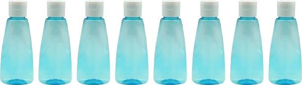 Harshpet Empty Refillable Flat Fliptop Bottle 100 ml Bottle