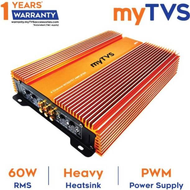 myTVS 4 Channel Mosfet Amplifier Multi Class AB Car Amplifier