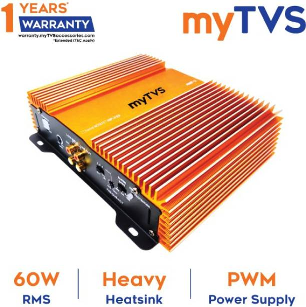 myTVS 2 Channel Mosefet Amplifier Multi Class AB Car Amplifier