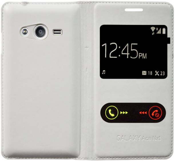 Coverage Flip Cover for Samsung Galaxy Ace NXT SM-G313H