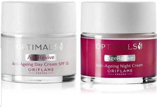 Oriflame optimals age revive anti ageing day and night cream