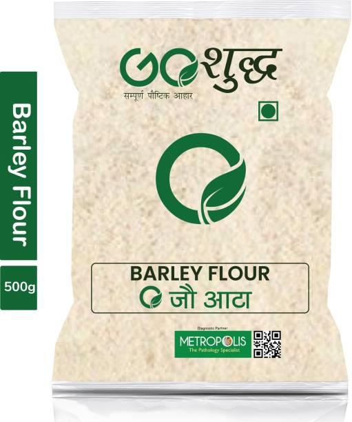 Goshudh Premium Quality Barley Flour (Jau Atta)-500gm (Pack Of 1)