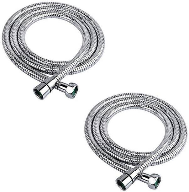 Acetap Stainlees Steel 304 Flexible Shower Tube Pipe 1 Meter ( Pack of 2 Pices ) Stainlees Steel 304 Flexible Shower Tube Pipe 1 Meter ( Pack of 2 Pices ) Hose Pipe