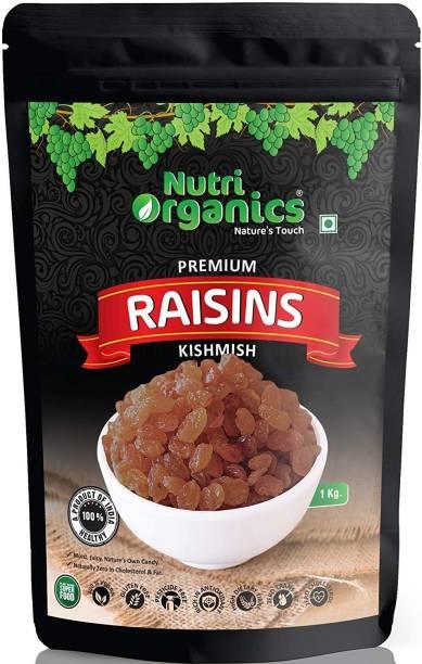 nutri organics Green Raisins Raisins
