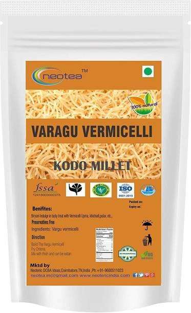 Neotea Varagu Vermicelli Noodles (Kodo) 300 g Each Pack of 2 ( Total 600 g ) Instant Noodles Vegetarian