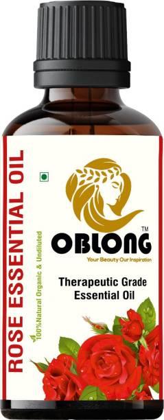 OBLONG PREMIUM QUALITY 100% ORGANIC ROSE OIL 1 BOTTLE(S) OF 10ML