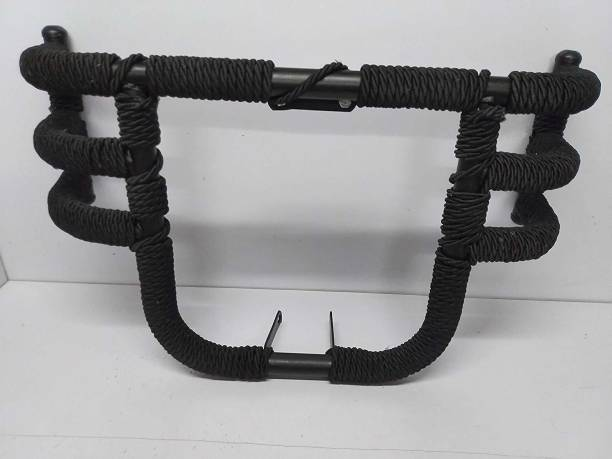 WHEETOYKART Airfly Leg Guard with Rope 3 Rod 3 Pipe Leg Guard with RopeW Bike Crash Guard