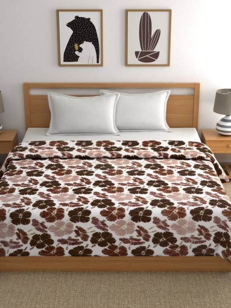 Raymond Home Floral Double Coral Blanket