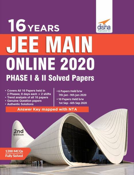 16 Jee Main Online 2020 Phase I & II Solved Papers