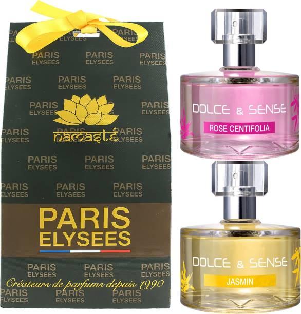 Paris Elysees Dolce & Sense Rose Centifolia & Jasmin Combo Eau de Parfum  -  120 ml