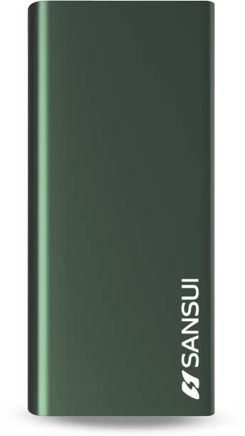 Sansui 20000 mAh Power Bank (12 W, Fast Charging)