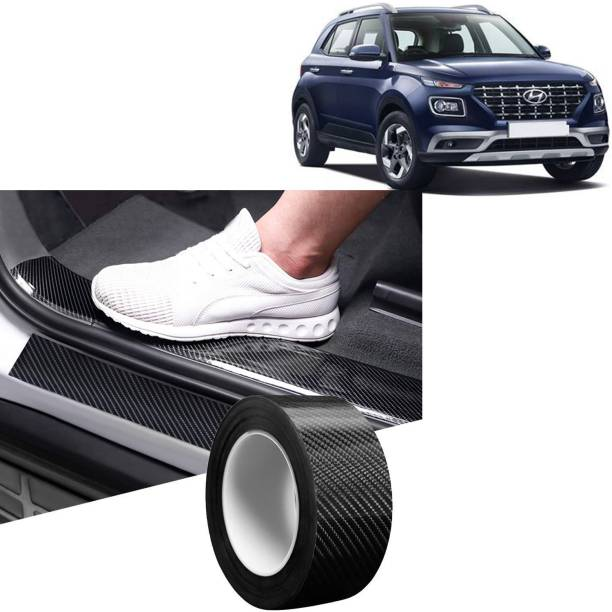 Rhtdm Anti-Scratch sill/Step Decoration Tape 5 meter balck For Venue_SD944 Door Sill Plate