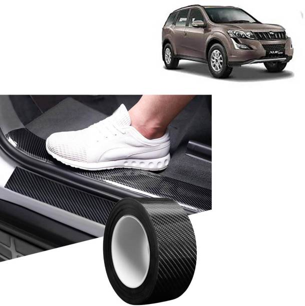 aksmit Anti-Scratch sill/Step Decoration Tape 5 meter balck For XUV 500_SD837 Door Sill Plate