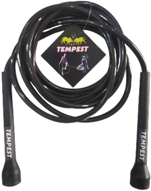 Tempest Adjustable Skipping Rope for Exercise,Workout,Sports With PERSONAL GYM CARRY BAG Freestyle Skipping Rope