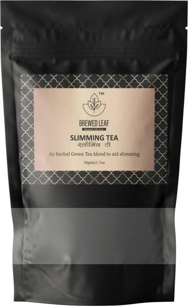 brewed leaf HERBAL SLIMMING TEA Green Tea Vacuum Pack