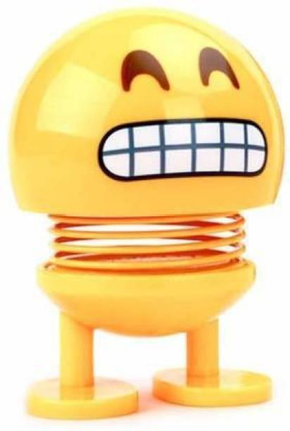 DEE GEE Emoji Smiley Spring Doll (Yellow)