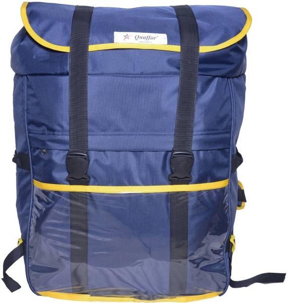 Quaffor Logistics Grocery and Courier Delivery Bag 85 L Backpack (Blue) 85 L Backpack