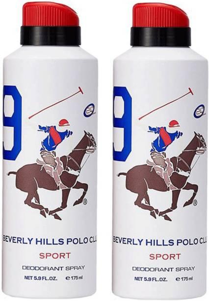BEVERLY HILLS POLO CLUB Combo Deodorants No.9X9 Deodorant Spray  -  For Men