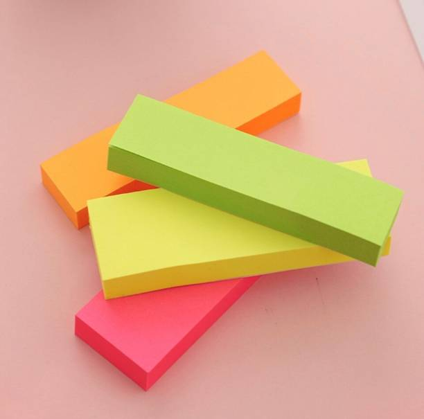officekart STICKY NOTES 200 Sheets Sticky notes Paper Flags, 4 Colors