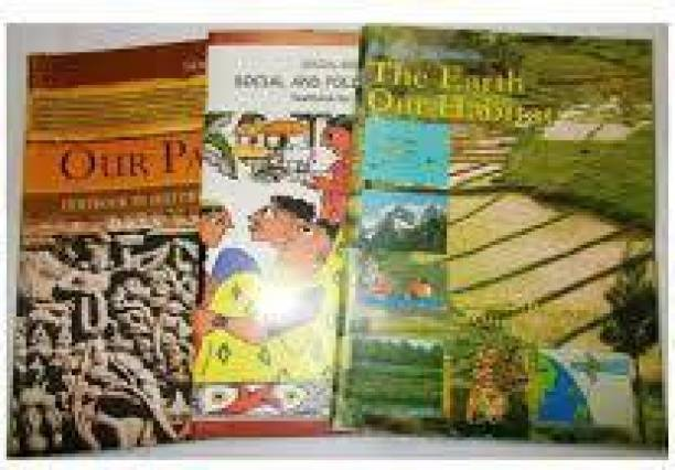 Combo Of 3 Books Of SOCIAL SCIENCE For Class 6 NCERT( HISTORY, GEOGRAPHY, CIVIICS)