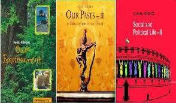Combo Of 3 Books Of SOCIAL SCIENCE For Class 7 NCERT( HISTORY, GEOGRAPHY, CIVIICS)