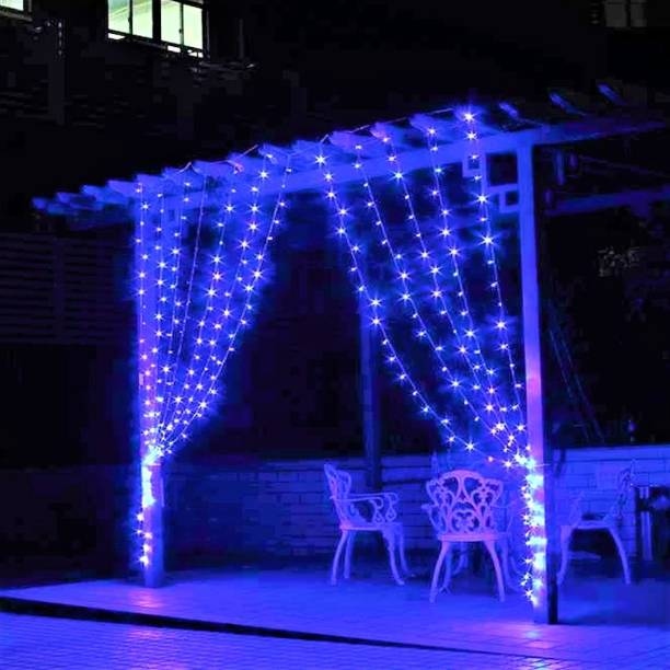 Home Delight 120 inch Blue Rice Lights
