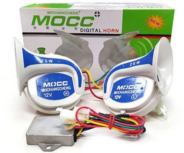 MOCC Horn For Universal For Bike, Universal For Car, Universal for Trucks, Universal for Bus Universal For Bike, Universal For Car