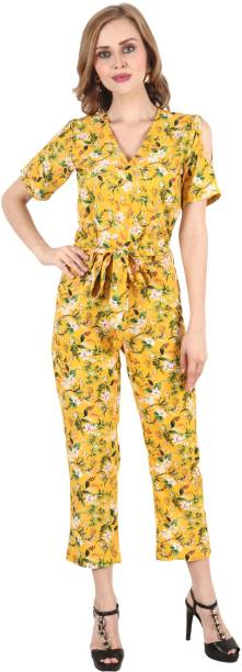 POPWINGS Printed Women Jumpsuit