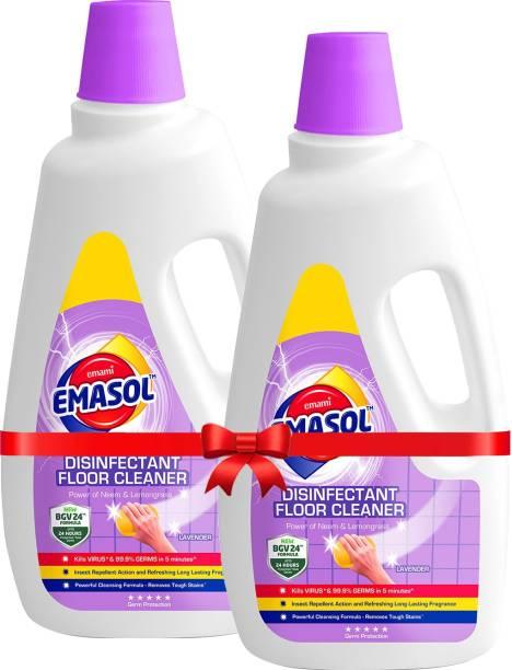 EMAMI EMASOL EMASOL Disinfectant Floor Cleaner Lavender (Pack of 2) Lavender