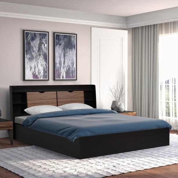 Nilkamal Riva Engineered Wood Queen Box Bed