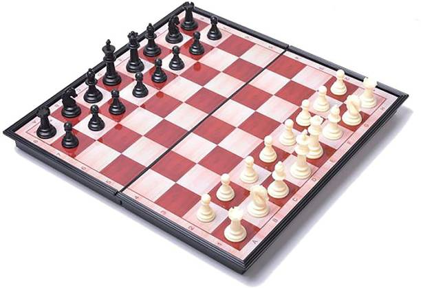 Prokick Premium Magnetic Educational Folding Chess Set with Magnetic Pieces, 12X12 Inches 12 inch Chess Board