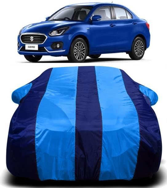 SWARISH Car Cover For Maruti Suzuki Swift Dzire (With Mirror Pockets)