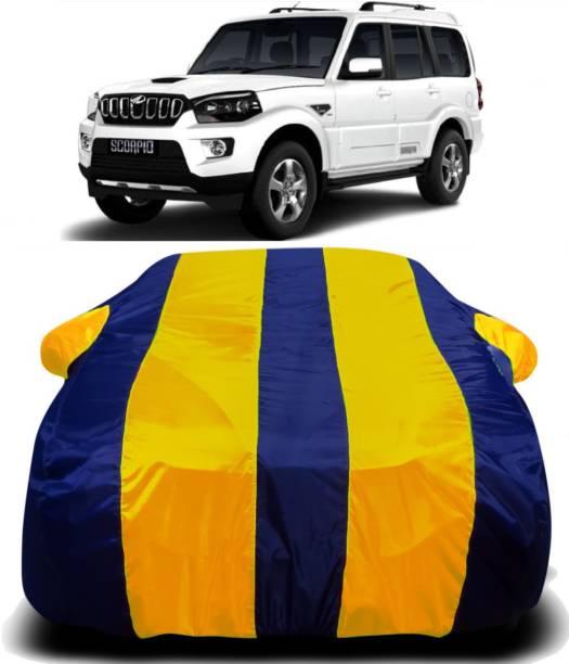 SWARISH Car Cover For Mahindra Scorpio (With Mirror Pockets)