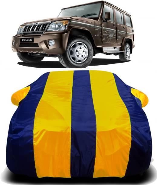 SWARISH Car Cover For Mahindra Bolero (With Mirror Pockets)
