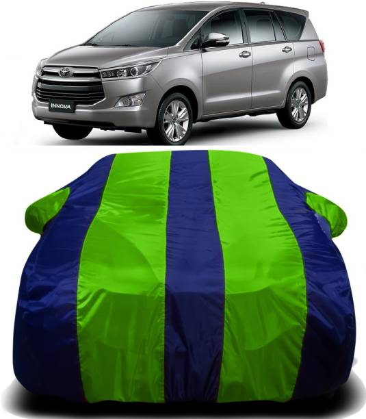 SWARISH Car Cover For Toyota Innova (With Mirror Pockets)